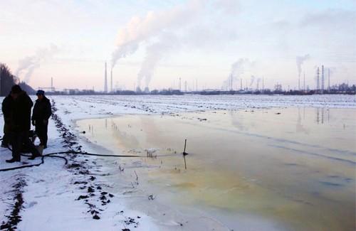 Озеро дизельного пального
