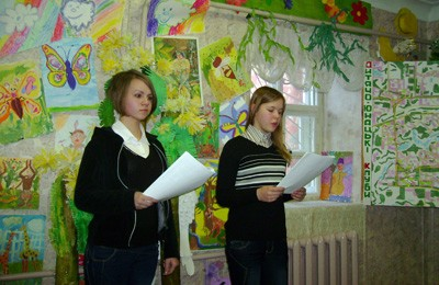 Настя Ходня та Катя Писаренко