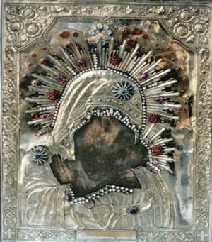 Горбанівська чудовторна ікона Божої Матері.