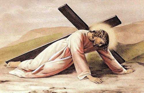 Страстная неделя: у каждого свой крест