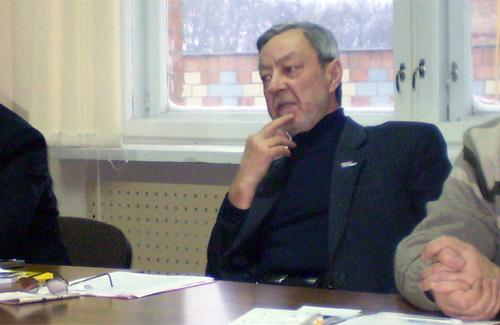 Голова Громадської ради при облдержадміністрації Володимир Голуб