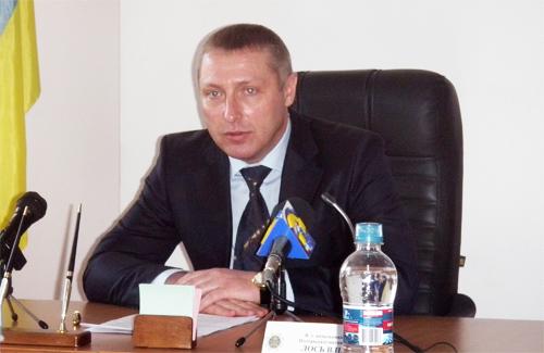 Сьогодні в.о. начальника Полтавської митниці Вадим Лось дав першу прес-конференцію на новій посаді