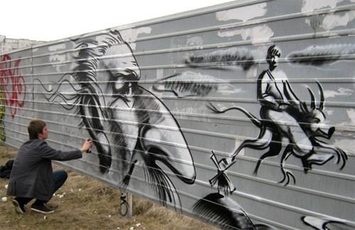 Фестиваль граффити в Полтаве