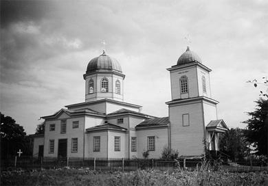 Свято-Георгиевский храм в селе Поповка