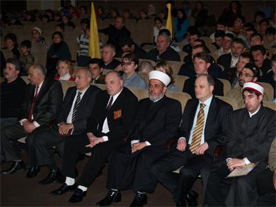 Полтавские мусульмане срывают маски с экстремистов