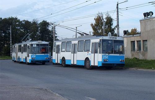 Троллейбусы «Skoda» в Таллинне