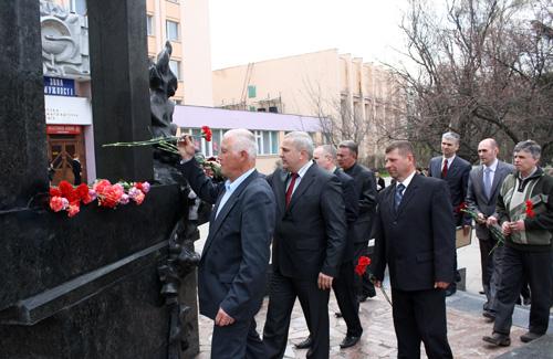 СБУ вшанувало своїх чорнобильців