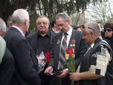 В Полтаве возле памятника ликвидаторам последствий аварии на ЧАЭС прошел митинг-реквием