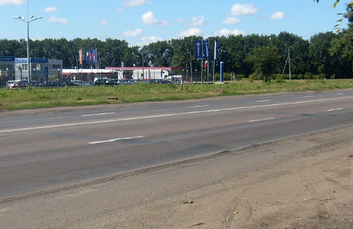 Частина дороги Київ — Харків — Довжанський стала головним болем полтавців
