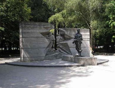 Памятник воинам-интернационалистам в Полтаве