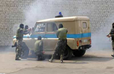 У Кременчуцькій виховній колонії вміють боротися із терористами