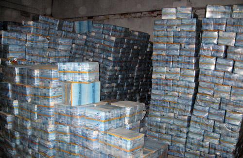 У Полтаві торгували просроченими китайськими морепродуктами