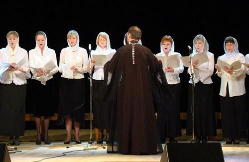 В Полтаве состоялся праздник духовного песнопения