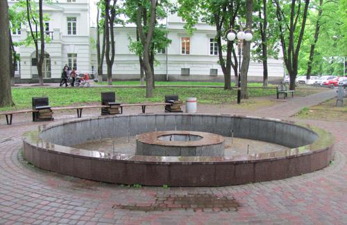 Полтава осталась без фонтанов