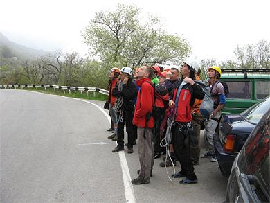 Члены полтавского турклуба «Спеллерс» заменили в крымских горах МЧСников