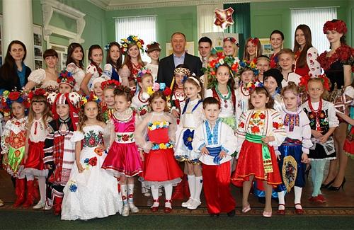 Мер Полтави зустрівся із принцами і принцесами України