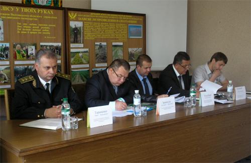 Нарада на тему «Стан та перспективи розвитку мисливського господарства в Полтавській області»