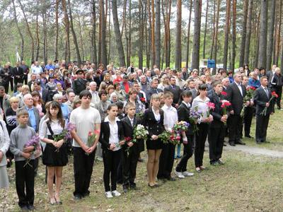 Пам'ять загиблих вшанували хвилиною мовчання.