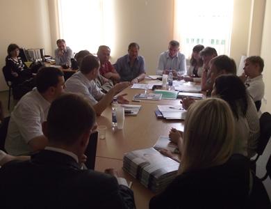 Заседание совета предпринимателей в Полтавском горсовете