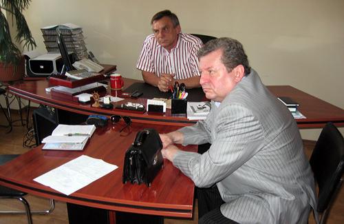 Леонид Куроедов и Юрий Белозерский