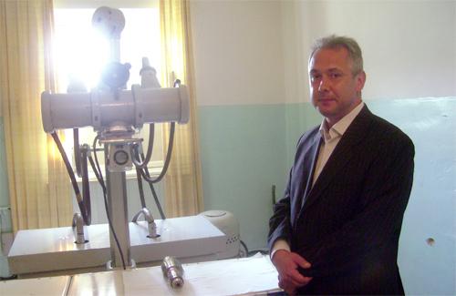 Головний лікар онкодиспансеру та відремонтований апарат