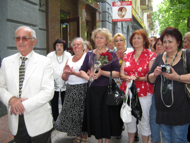 У Полтаві відкрили меморіальну дошку Володимиру Геращенку