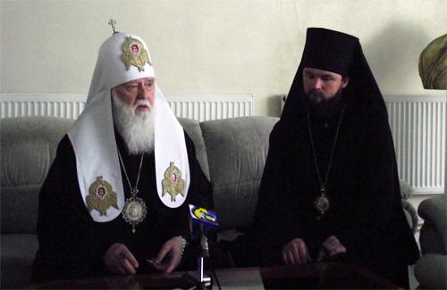 Патріарх Філарет відвідав Полтаву
