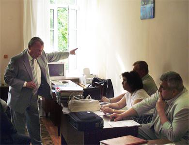 Заседание Общественной рады при Полтавском горисполкоме