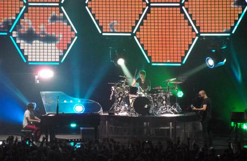 Близько 50-ти полтавців наживо послухали рок-групу Muse