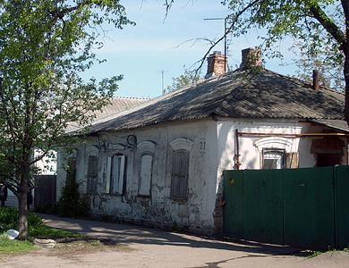 Ул. Чапаева в Полтаве
