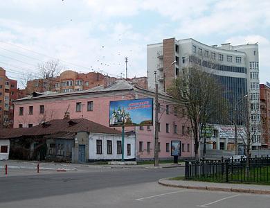 Ул. Октябрьская в Полтаве