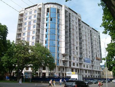 Ул. Сенная в Полтаве