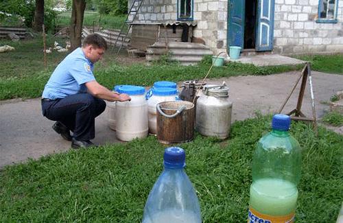 На Новосанжарщині міліціонери знайшли потужну ґуральню