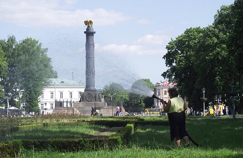 Кінець травня на Полтавщині буде спекотним