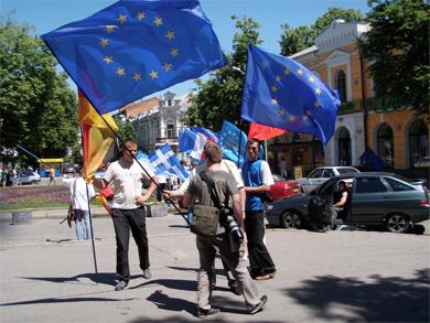 День Європи у Полтаві: свято порозуміння