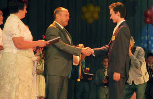 39 випускників Полтави отримали медалі