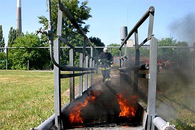 Керівників полтавських підрозділів МНС випробували вогнем