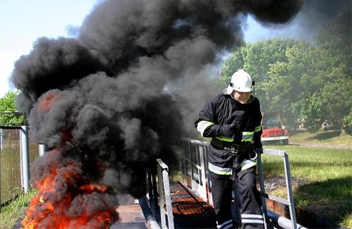 Керівників полтавський підрозділів МНС випробували вогнем