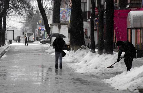 200 тыс. грн. из бюджета Полтавы «убрали» вместе со снегом