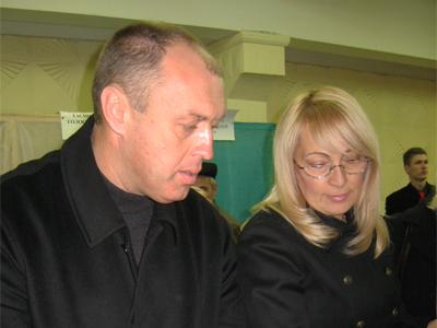 Олександр та Людмила Мамаї на виборах міського голови Полтави