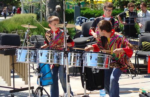 Полтавських музикантів у Ялті викликали на біс
