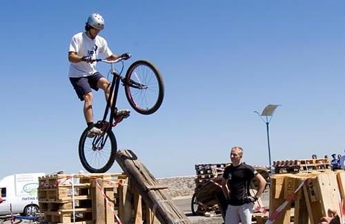 Змагання з велотріалу «Monster Bikes Competitions»