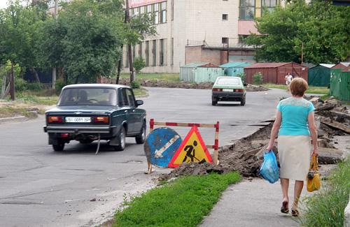 Розпочалися ремонтні роботи на вул. Красіна
