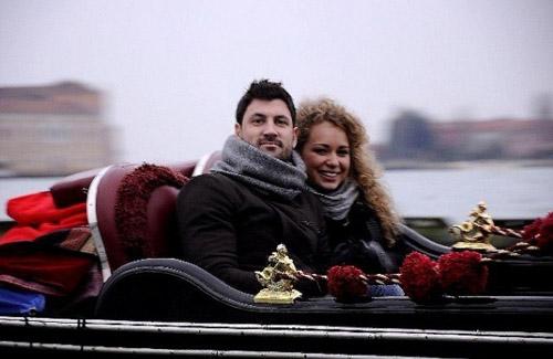 Яна Соломко и Максим Чмерковский