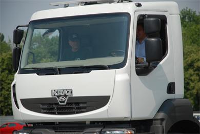 КрАЗ представил машину с кабиной Renault