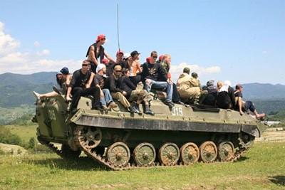 ЄСМівці в Осетії (липень 2008)