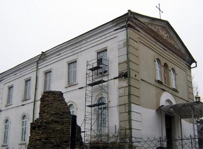 Святомиколаївський храм міста Полтава