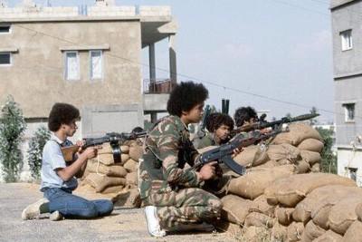 Діти на барикадах у Лівані