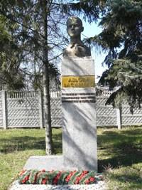 Пам'ятний знак дитині-партизану Альоші Василенку (Решетилівка)