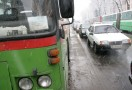 Страйк автоперевізників у Полтаві